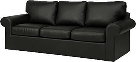 Amazoncom The Faux Leather Ektorp 3 Seat Sofa Cover Replacement