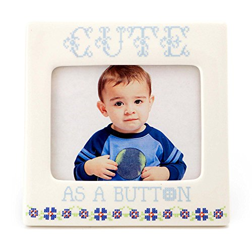 cute as a button picture frame - 3