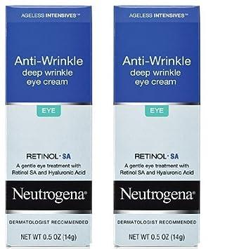 Neutrogena Ageless Intensives Eye Cream, Deep Wrinkle, 0.5 Oz 14 G Pack of 2