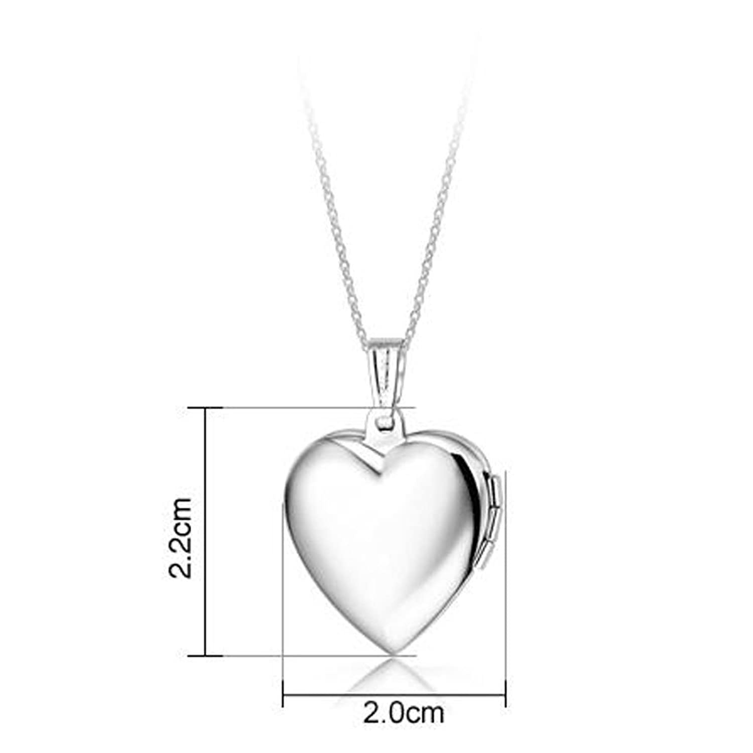 jewelry belons chain blue dp pendant photo amazon openable locket titanium heart pink steel com sweetheart necklace