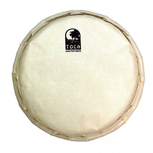 Toca TP-FHM14 14-Inch Goat Skin Head for Mechanically Tuned Djembe ()