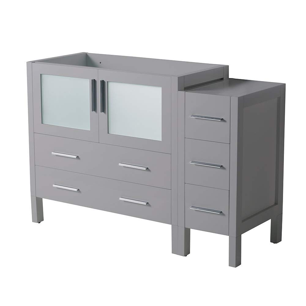 Fresca Torino 48'' Gray Modern Bathroom Cabinets (Renewed) by Fresca