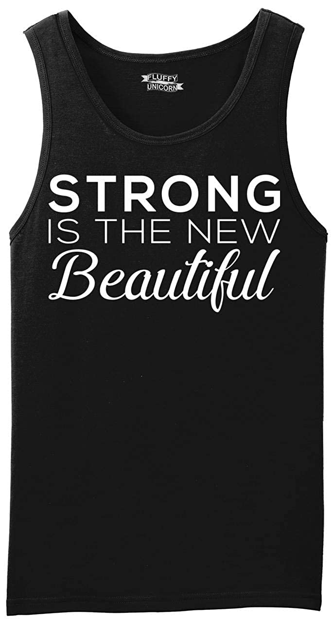 Comical Shirt Mens Strong is The Beautiful Tank Top
