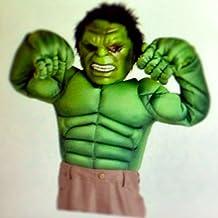 Disney Store The Avengers Deluxe Hulk Costume for Boys Large 10 - 12 by Disney