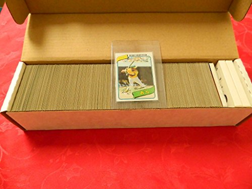 1980 Topps Complete Baseball Set RICKEY HENDERSON Rookie Nr mint & nr mt/mint