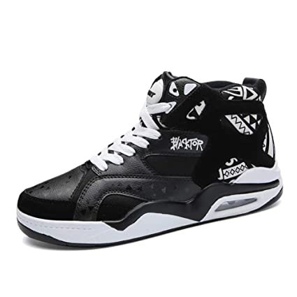 29b3df8a02d0a Amazon.com: HEmei Men's Shoes Fall Winter New Basketball Shoes Shock ...