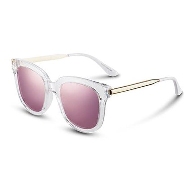 Gafas polarizadas para mujer Gafas de sol redondas Gafas de sol polarizadas Gafas de sol cuadradas, B: Amazon.es: Ropa y accesorios