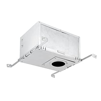 Recessed lighting ic rated insulation box aluminum finish globe recessed lighting ic rated insulation box aluminum finish globe electric 9212701 mozeypictures Gallery