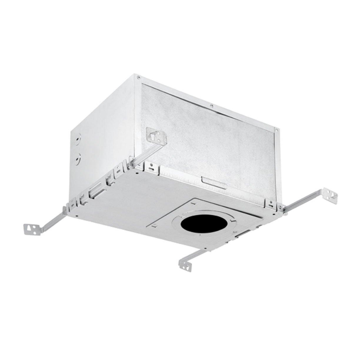 Recessed Lighting IC Rated Insulation Box, Aluminum Finish, Globe Electric 9212701