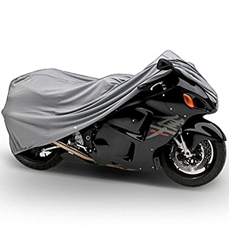 Amazoncom Motorcycle Bike 4 Layer Storage Cover Heavy Duty For