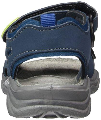 Ricosta Jungen Alsaco Sandalen Blau (pavone/petrol)