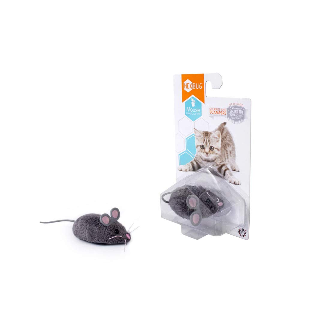 Hexbug Mouse Robotic Cat Toy - Random Color by HEXBUG (Image #2)