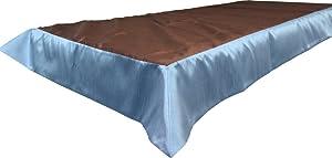 Snap Drape OVROY4284BRN/SLT Tablecloth, Fits 6' x 30