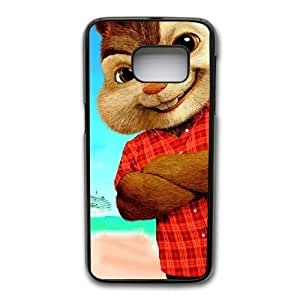 Generic Fashion Hard Back Case Cover Fit for Samsung Galaxy S7 Edge Cell Phone Case black Alvin and the Chipmunks STR-3300160