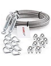 Seilwerk STANKE Verzinkt staaldraad staalkabel SET
