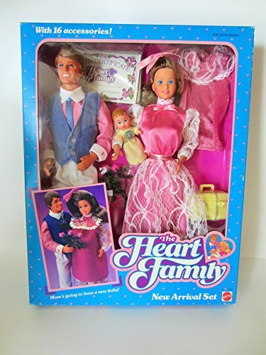 The Heart Family New Arrival Set - 1985