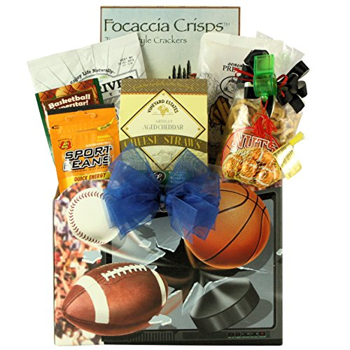 Armchair Athlete: Father's Day Sports & Snack Gift (Greatarrivals Fathers Day)