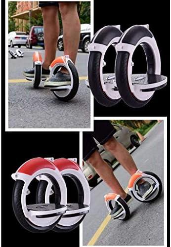 Mini Rouleau Silencieux Plaque Skate Scooter Drift 2pcs ABS monoroue Planche à roulettes Professionnelle PU Roue Unisexe