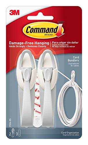 Command Cord Bundlers, Cord Organizer