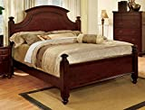 What Is a European King Size Bed 247SHOPATHOME IDF-7083EK Bed-Frames, King, Cherry