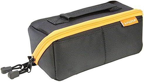 フジ矢 ヒッポケース(布製工具ケース) Sサイズ 黒オレンジ FTC2-SBK