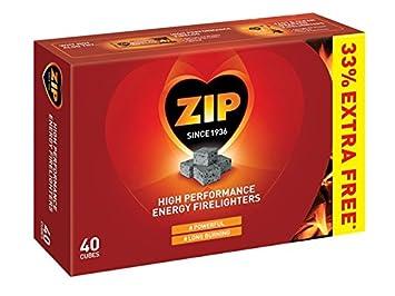 Lot de 30 allume-feux Zip - Hautes performances - Énergétiques