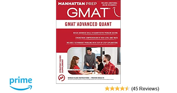 Quant pdf manhattan advanced gmat