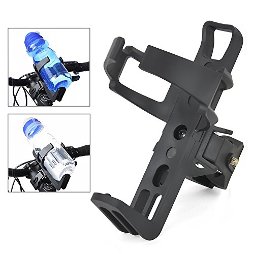 Triclicks New Motorcycle Bicycle Drink Water Bottle Cup Holder Mount Cage Quick (Bicycle Racks Motorcycles)