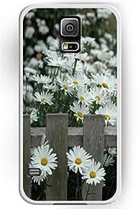 SPRAWL Beautiful Flower Design Hard Shell for Samsung Galaxy S5 Hard Plastic Back Case Floral -- Mums Beautiful Scence