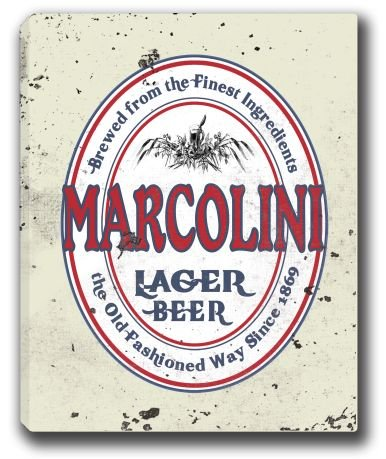 marcolini-lager-beer-stretched-canvas-sign-16-x-20