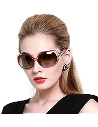 Women's Shades Classic Oversized Polarized Sunglasses 100% UV Protection 1220