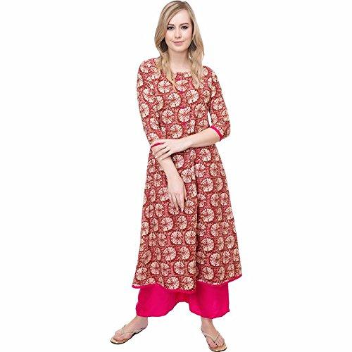 136f1d970d6 Galix Women s Cotton Kurta Latest Design Kurti For Women