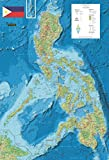 Philippines Wall Map Second
