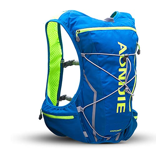 POJNGSN Outdoor Camping Hiking Bag Men Women Bicycle Cycling Bags Vest Running Backpack 10L Set E by POJNGSN (Image #2)