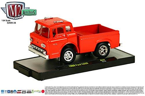 (1960 FORD C600 * Auto-Trucks Series Release 34 * M2 Machines 2015 Castline Premium Edition 1:64 Scale Die-Cast Vehicle ( R34 15-41 ))