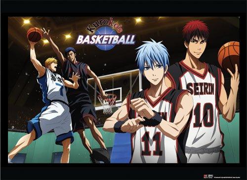 De pared Scroll–baloncesto de Kuroko–nuevo juego tela arte con licencia Anime ge60221