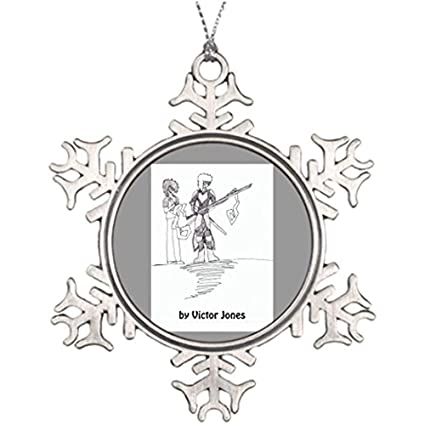 Amazon Com Best Friend Snowflake Ornaments Victor S Character