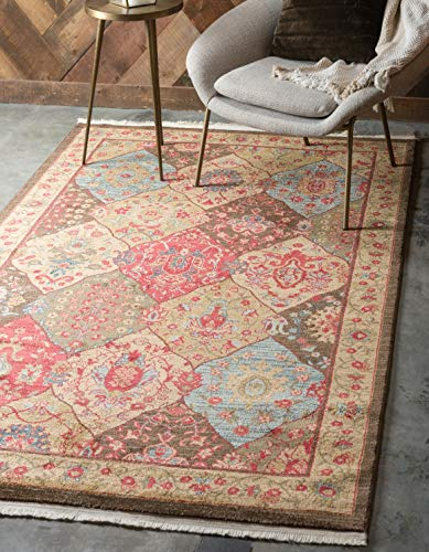 Unique Loom Edinburgh Collection Oriental Traditional French Country Multi Area Rug 6 0 x 9 0