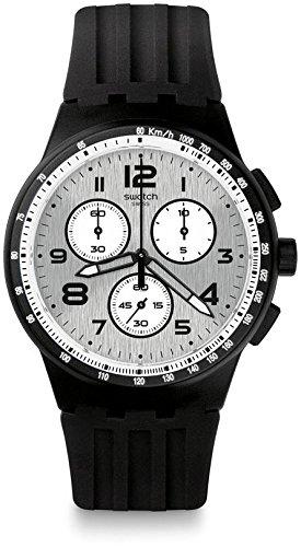 Swatch Reloj Digital para Hombre de Cuarzo con Correa en Silicona SUSB103: Amazon.es: Relojes