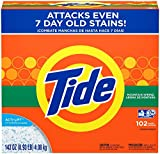 Tide Powder Laundry Detergent, Mountain Spring, 102