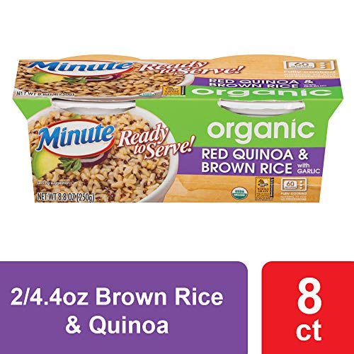minute ready to serve brown rice & quinoa cups