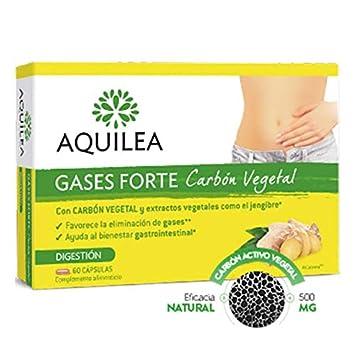 Aquilea Gases Forte Carbón Vegetal, 60cápsulas.: Amazon.es: Salud y cuidado personal
