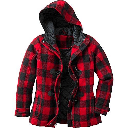 Wool Blend Lady Coat - 7