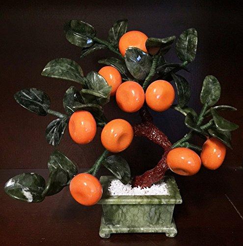 Jade Tangerines Tree 20b-3 (Jade Bonsai Flower Tree)
