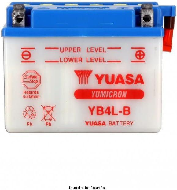 YB4L-B BATTERIE YUASA STREETZONE 50 10 POUCES 2014-2014