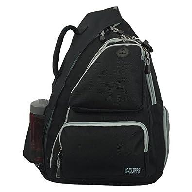 Amazon.com: Heavy Duty Sling Backpack Student Laptop Bookbag Cross ...