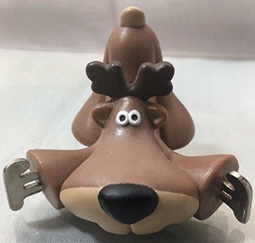Reindeer Miniature - Rodney on Skates 1984 Merry Miniature by Hallmark