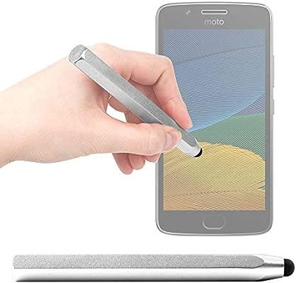 DURAGADGET Lápiz Stylus Gris para Smartphone Intex Aqua S9 Pro ...