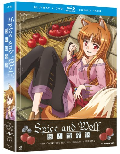 Spice & Wolf: Complete Series (Blu-ray/DVD Combo) by Funimation