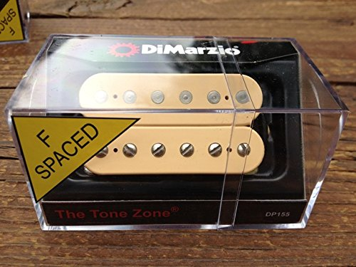 DiMarzio Tone Zone F-Spaced BRIDGE Humbucker Pickup Creme DP155FCR Cream